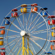 Ferris wheel in amusement park — Stock Photo #6393995