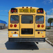 ストック写真: Yellow AmericSchool Bus