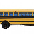 School bus isolated over white background — Stock Photo #6394522
