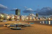 Beach in Las Palmas de Gran Canaria, Spain — Stock Photo