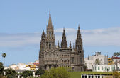 Cathedral in Arucas, Grand Canary Island Spain — Stock Photo