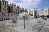 Fountains in Las Palmas de Gran Canaria, Spain — Stock Photo