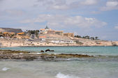 Resort costa calma, fuerteventura — Stock fotografie