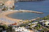 Spiaggia di puerto de mogan, gran canaria — Foto Stock