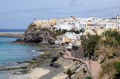 Yarın jable, kanarya adası fuerteventura, i̇spanya sahilinde — Stok fotoğraf