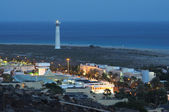 Coast at Jandia Playa at night, Fuerteventura — Stock Photo