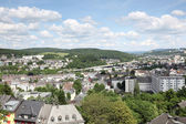View over the city of Siegen, Germany — Stock Photo