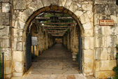 Archway in the Alamo, San Antonio, Texas — Stock Photo