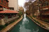 The famous River Walk in San Antonio, Texas USA — Foto de Stock