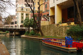 The River Walk in San Antonio, Texas — Stock Photo