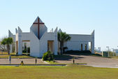 Modern church in Corpus Christi, USA — Stock Photo