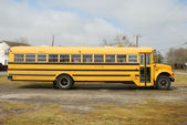 Giallo scuolabus — Foto Stock
