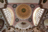 Cupola of the Suleymaniye mosque in Istanbul, Turkey — Foto de Stock