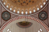 Cupola of the Suleymaniye mosque in Istanbul — Stock Photo