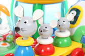 Colorful mouse toy — Stock Photo