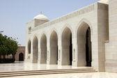 Gran mezquita en muscat, omán — Foto de Stock