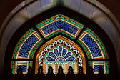 Beautiful window in Grand Mosque — Foto Stock