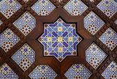 Oriental mosaic decoration in Dubai, United Arab Emriates — Stock Photo