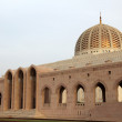 Sultan Qaboos Grand Mosque in Muscat, Oman - 图库照片