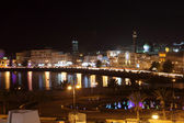 View of Muttrah Corniche at night. Muscat, Sultanate of Oman — Stock Photo