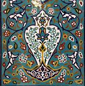 Oriental mosaic decoration — Stock Photo