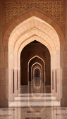Archway in the Grand Mosque, Muscat Oman — Stock Photo