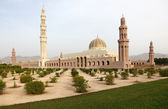 Sultan Qaboos Grand Mosque in Muscat, Oman — Stockfoto