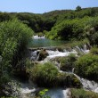 Waterfall in Krka National Park in Croatia — Stock Photo #6683353