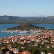Town Murter at the Adriatic Coast in Croatia — Stock Photo