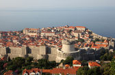 View of the medieval town Dubrovnik in Croatia — Stockfoto