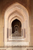 Archway inside of Grand Mosque, Sultanate of Oman — Stock Photo