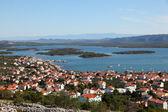 コルナティ島国立公園クロアチアで町 murter — ストック写真