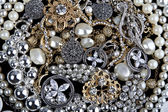 Jewelry background — Stock Photo
