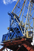 Industrial grabber crane — Stock Photo