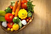 čerstvá zelenina — Stock fotografie