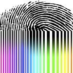 Fingerprint and barcode — Stock Photo #6238369