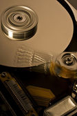 Hard disk drive in motion - four — Stock Photo