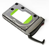 Server Hard disk drive in hot swap frame — Stock Photo
