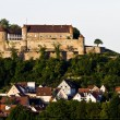 Stock Photo: Castle Stettenfels in south west germany