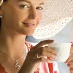 elegante caffè — Foto Stock