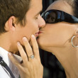 Royalty-Free Stock Photo: Lover\'s Kiss