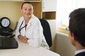 Doctor & Patient — ストック写真