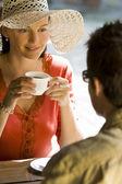 Romantic Coffee — Stock Photo