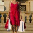 shopping dans le med — Photo