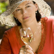 Summertime Wine — Stock Photo