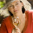 Royalty-Free Stock Photo: Summertime Wine