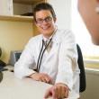 Male Doctor & Female Patient — Stock Photo #6470032