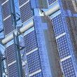 Close Up Renewable Green Energy Photovoltaic Solar Panel — Stock Photo #6479128