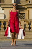 Shopping In The Med — Stock Photo