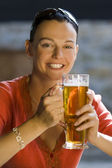 Long Cool Beer — Stock Photo